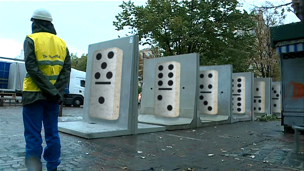 Domino Wall